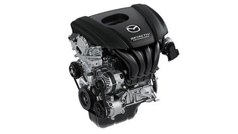 All-new Mazda2 Skyactive engine