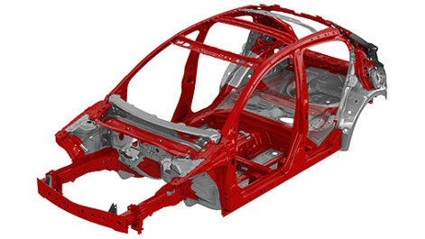 All-new Mazda2 Skyactive Structure