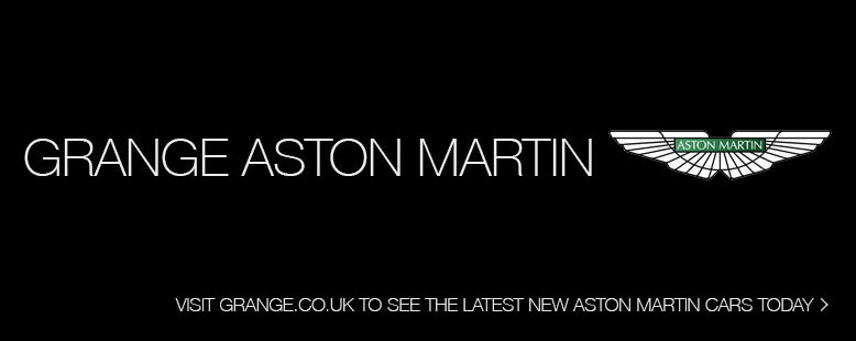 Visit Grange Aston Martin for new cars