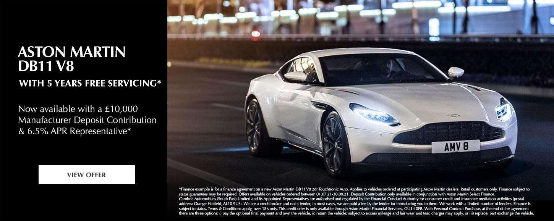 Aston Martin DB11 V8 Offer