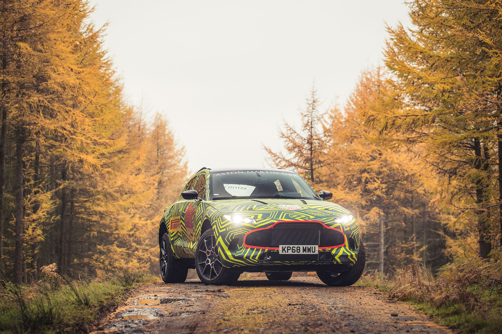 DBX: Prototype of Aston Martin's first SUV begins testing