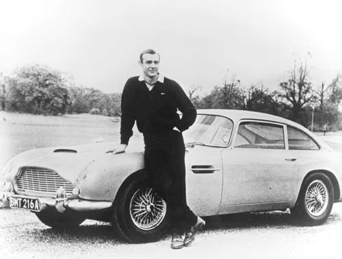 james bond aston martin icon
