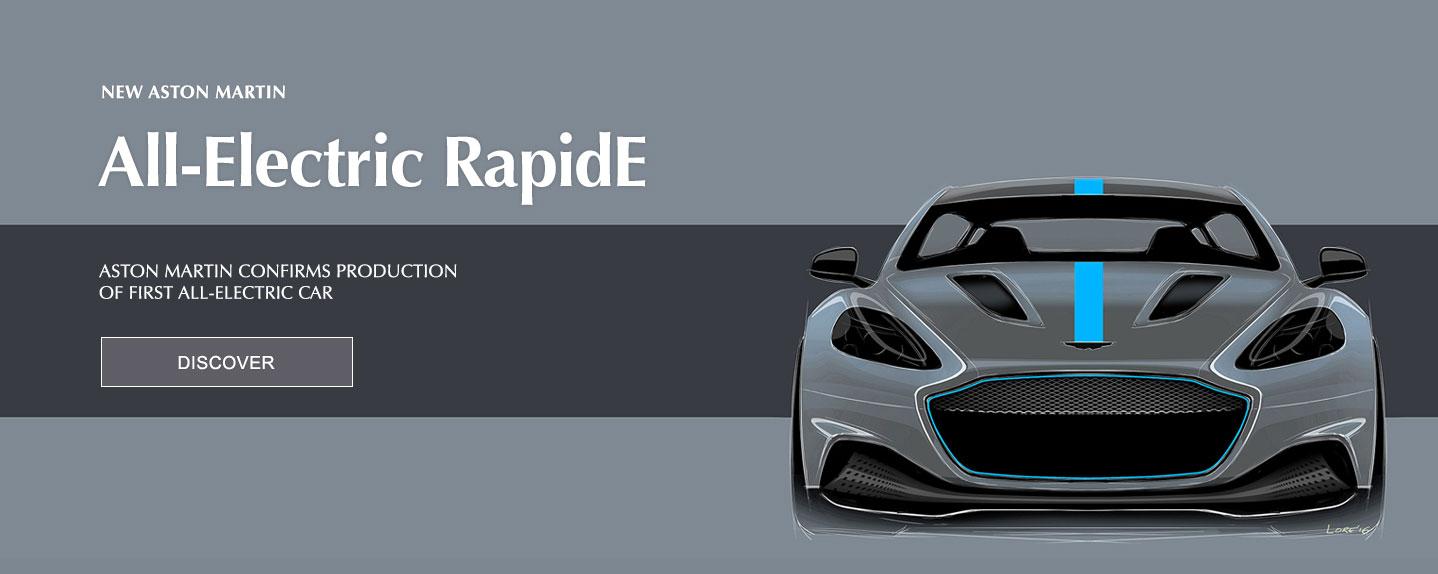 New Aston Martin All-Electric RapidE Announced