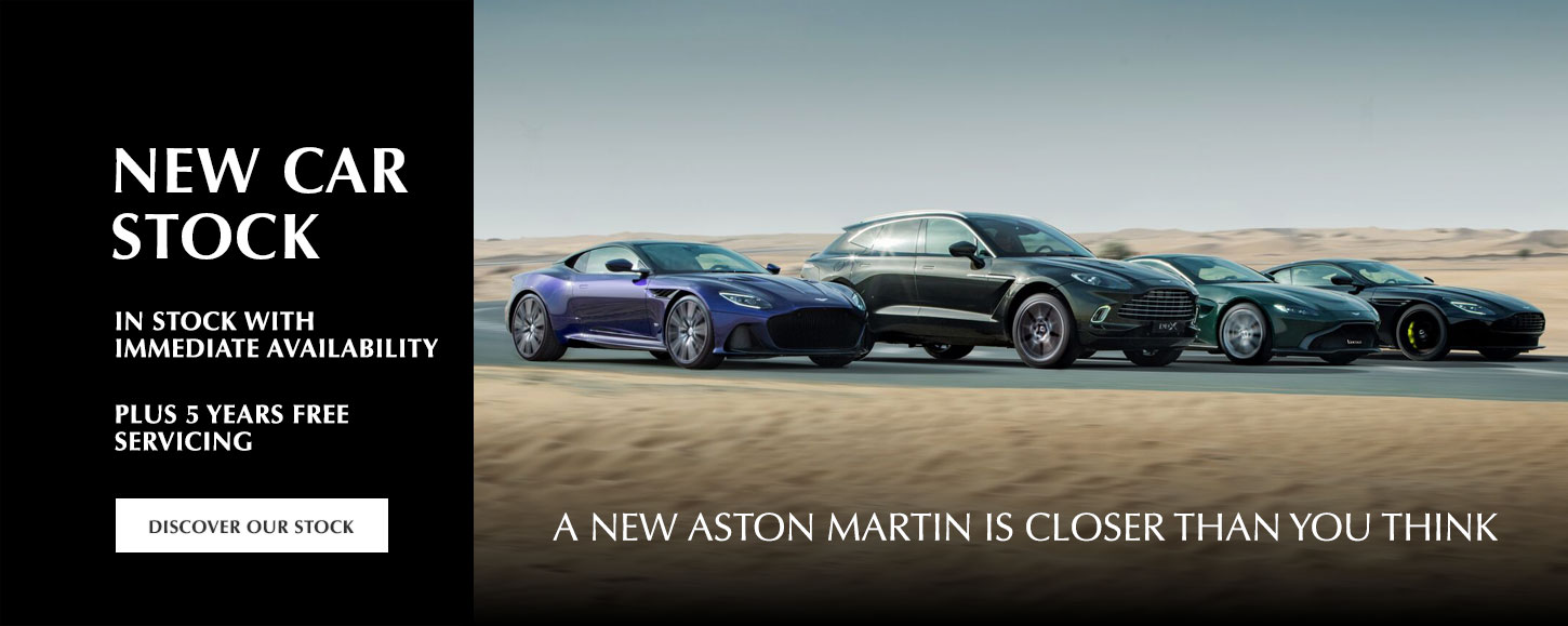 Aston Martin - New Car Stock