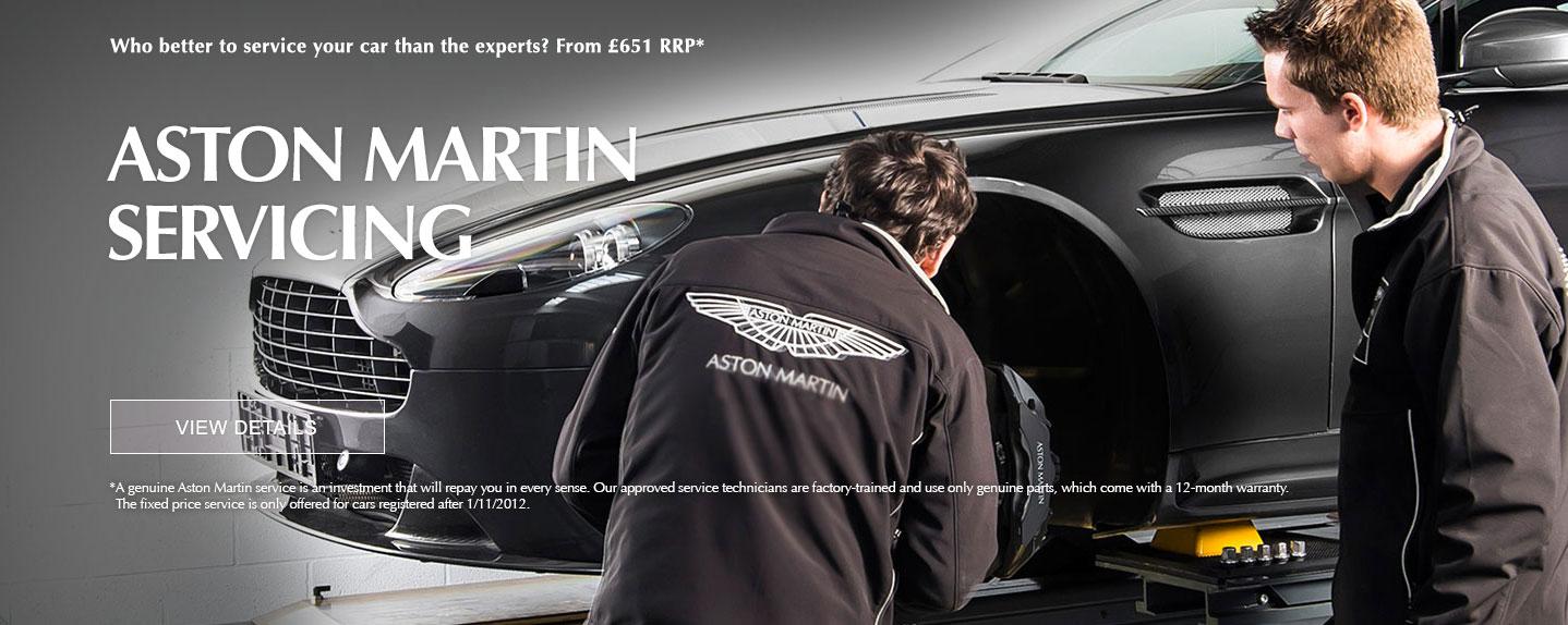 Aston Martin Servicing
