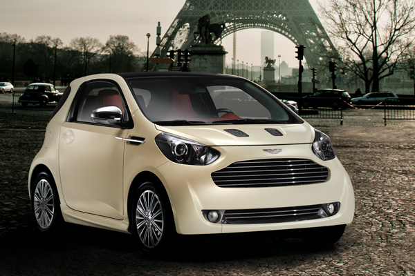 New Aston Martin Cygnet Cars