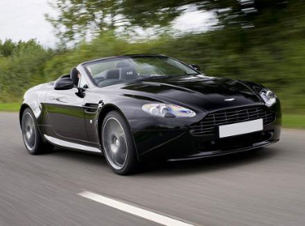 Delightful New Cars   Aston Martin V8 Vantage Roadster Pictures