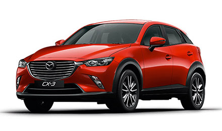 New Mazda CX-3 Cars