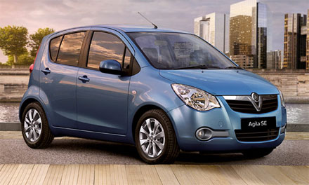 New Vauxhall Agila Cars