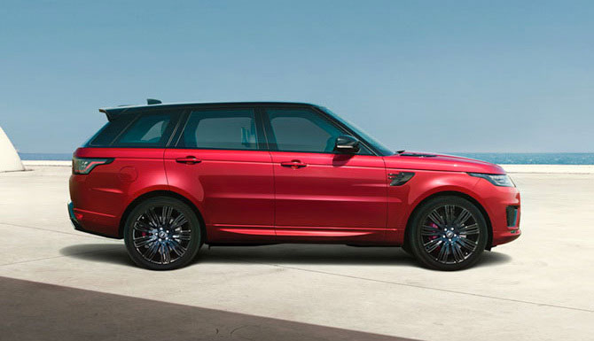 New Range Rover Sport Stock Offers