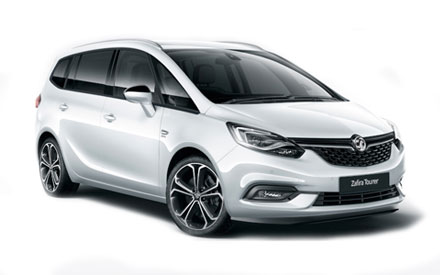 New Vauxhall Zafira Tourer Offers