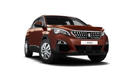 New Peugeot 3008 SUV Motability Offer
