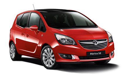 New Vauxhall Meriva Cars