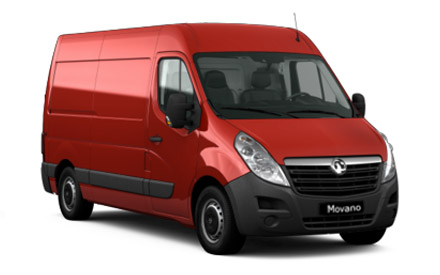 New Vauxhall Movano Van Offers