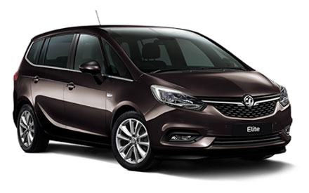 New Vauxhall Zafira Tourer Cars