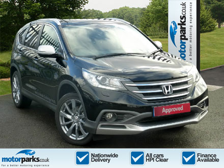 Honda CR-V 2.0 i-VTEC EX 5dr Auto +SatNav+Leather+Parking Aid Automatic Estate (2013) image