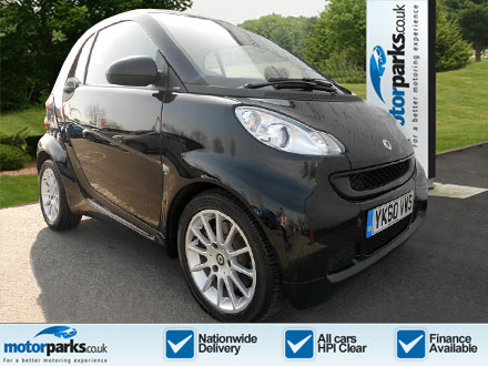 Smart ForTwo CDI Passion 2dr Softouch Auto [2010] 0.8 Diesel Automatic Coupe (2010) image