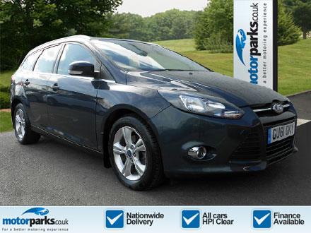 Ford Focus 1.6 TDCi 115 Zetec 5dr Diesel Estate (2011) image