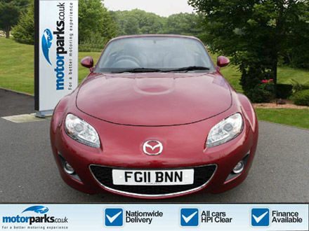 Mazda MX-5 2.0i Sport Tech 2dr Coupe (2011) image