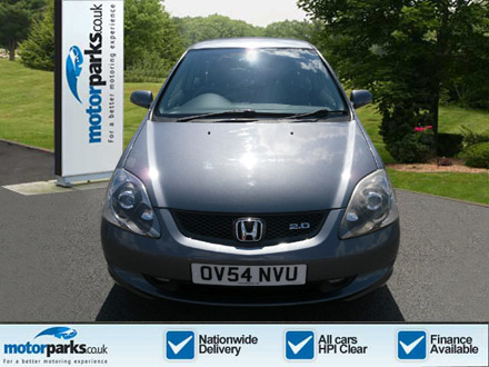 Honda Civic 2.0 i-VTEC Type S 5dr [VSA+17 in Alloy+Nav] Hatchback (2004) image