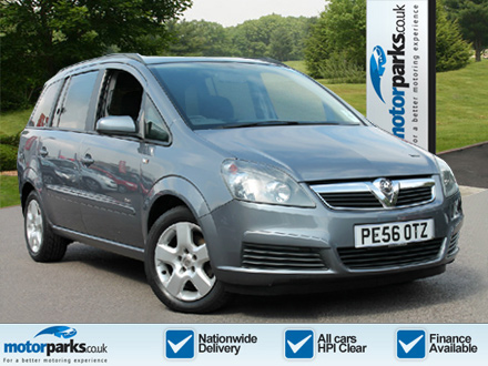 Vauxhall Zafira 1.6i Club 5dr Estate (2006) image