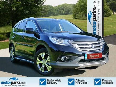 Honda CR-V 1.6 i-DTEC SR 5dr 2WD [Sat Nav] (2013 - ) Diesel Estate (2014) image