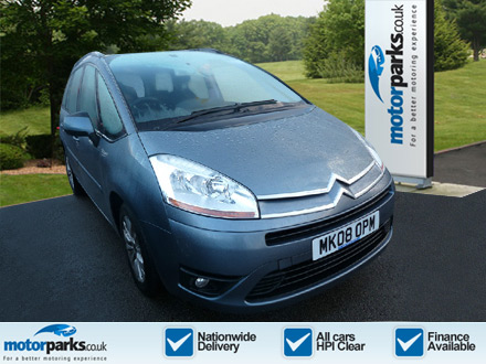 Citroen C4 Picasso Grand 1.6HDi 16V VTR Plus 5dr EGS Diesel Automatic Estate (2008) image