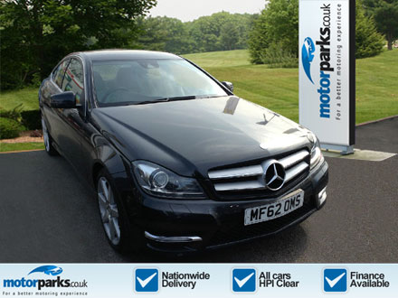 Mercedes-Benz C-Class Sports C180 [1.6] BlueEFFICIENCY AMG Sport 2dr Auto Automatic Coupe (2012) image