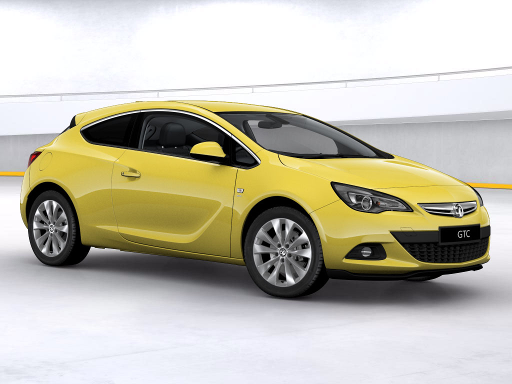 Vauxhall Astra GTC SRI 1.4i 140PS Turbo auto