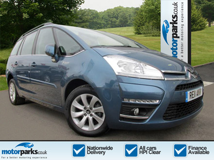 Citroen C4 Grand Picasso 1.6 HDi VTR+ 5dr EGS6 Diesel Automatic Estate (2011) image
