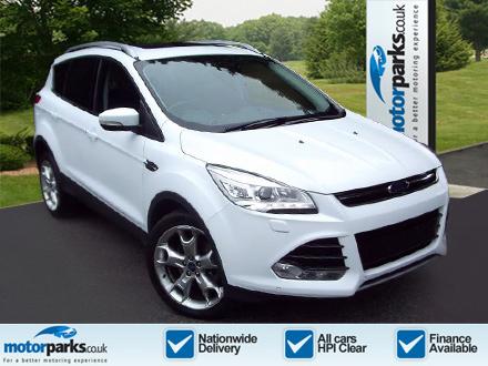 Ford Kuga 2.0 TDCi 163 Titanium X Powershift Diesel Automatic 5 door Estate (2014) image