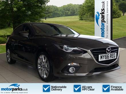 Mazda 3 Hatchback 1.5 Sport Nav 5dr Diesel Hatchback (2016) image