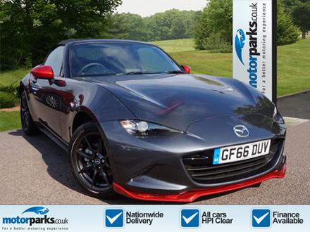 Mazda MX-5 MX-5 CONVERTIBLE SPECIAL EDITION,1.5 Icon 2dr 62016 Convertible (2016) image