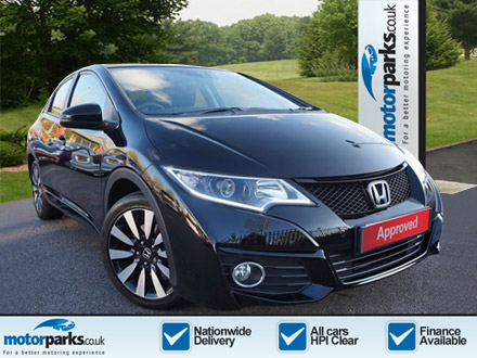 Honda Civic 1.8 i-VTEC SE Plus [Nav] Automatic 5 door Hatchback (2016) image