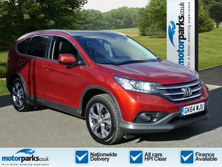 Honda CR-V 2.2 i-DTEC EX 5dr Diesel Automatic Estate (2014) image