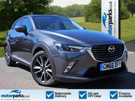 Mazda CX-3 1.5d Sport Nav 5dr AWD Auto Diesel Automatic Hatchback (201) image