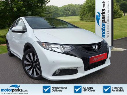 Honda Civic 1.8 i-VTEC SR Automatic 5 door Hatchback (2014) image