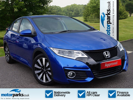 Honda Civic 1.4 i-VTEC SE Plus [Nav] 1.3 5 door Hatchback (2017) image