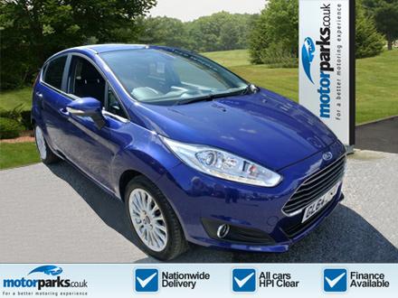 Ford Fiesta 1.0 EcoBoost Titanium 5dr Hatchback (2014) image