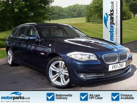 BMW 5 Series 520d SE 5dr Step Auto 2.0 Diesel Automatic 4 door Estate (2011) image