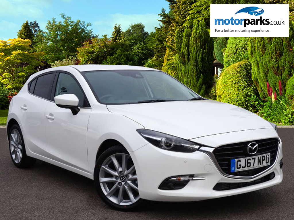 Mazda 3 Hatchback 2.2d Sport Nav 5dr [Leather] Diesel Hatchback (2017) image