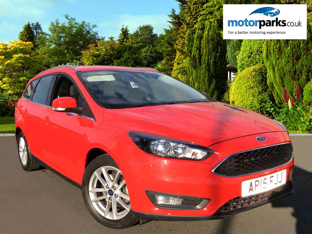 Ford Focus 1.6 125 Zetec 5dr Powershift Automatic Estate (2015) image