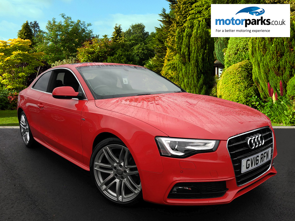 Audi A5 2.0 TDI 190 S Line 2dr Multitronic [Nav] Diesel Automatic Coupe (2016) image
