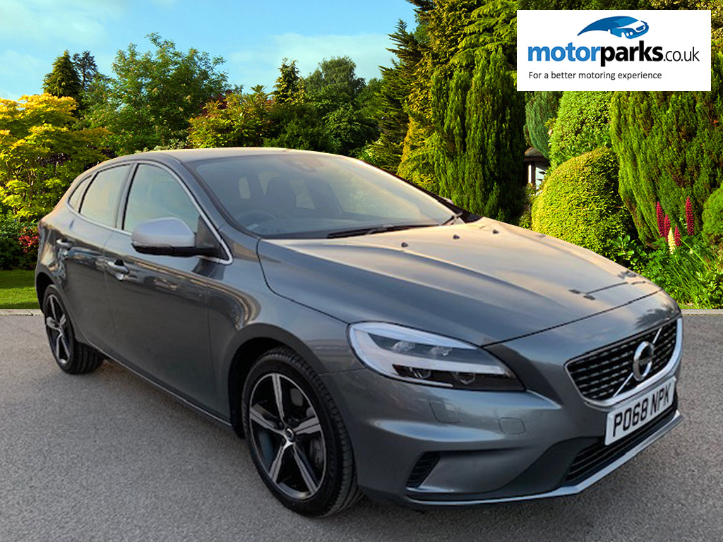 Volvo V40 D2 [120] R DESIGN Geartronic with Winter Pack and Rear Camera 2.0 Diesel Automatic 5 door Hatchback (2018)