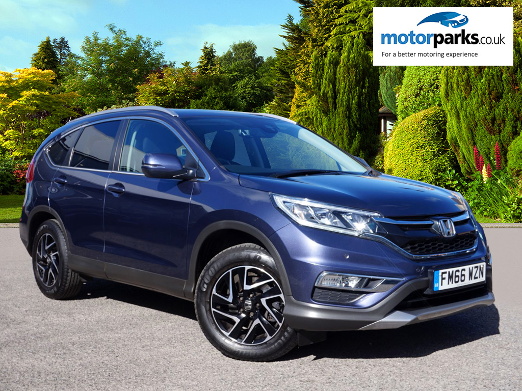 Honda CR-V 1.6 i-DTEC 160 SE Plus 5dr [Nav] 4WD Diesel Automatic Estate (2017)