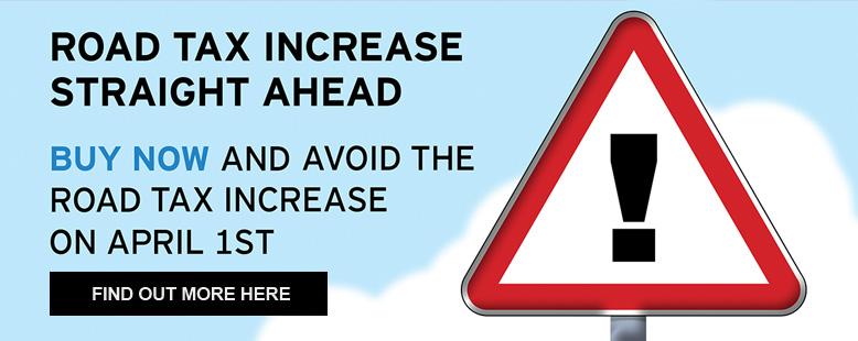 Beat The Road Tax Increase at Motorparks
