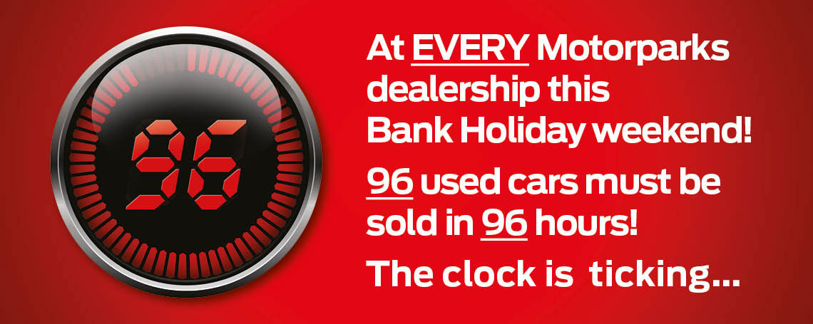 Big Bank Holiday Sale at Motorparks