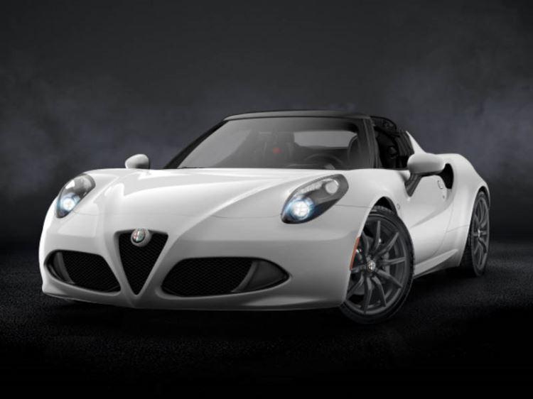 Alfa Romeo 4C Spider 1.75 TBi 2dr TCT