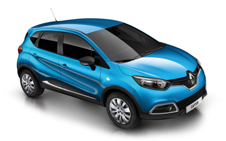 Renault Captur Crossover Expression+ dCi 90 Start & Stop