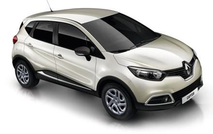 Renault Captur Crossover Dynamique NavdCi 90 EDC Auto
